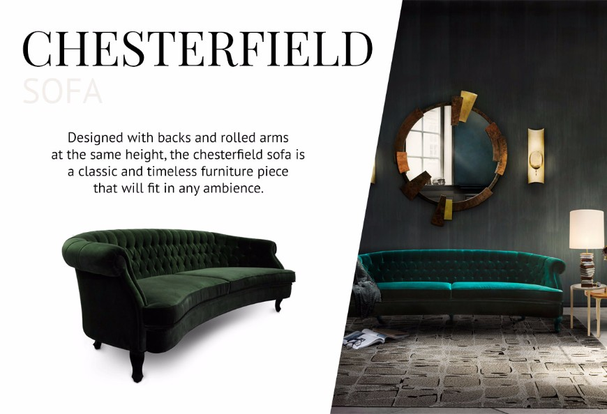 How To Pick The Type Of Sofas That Works Better For You modern sofas How To Pick The Type Of Modern Sofas That Works Better For You Chesterfield