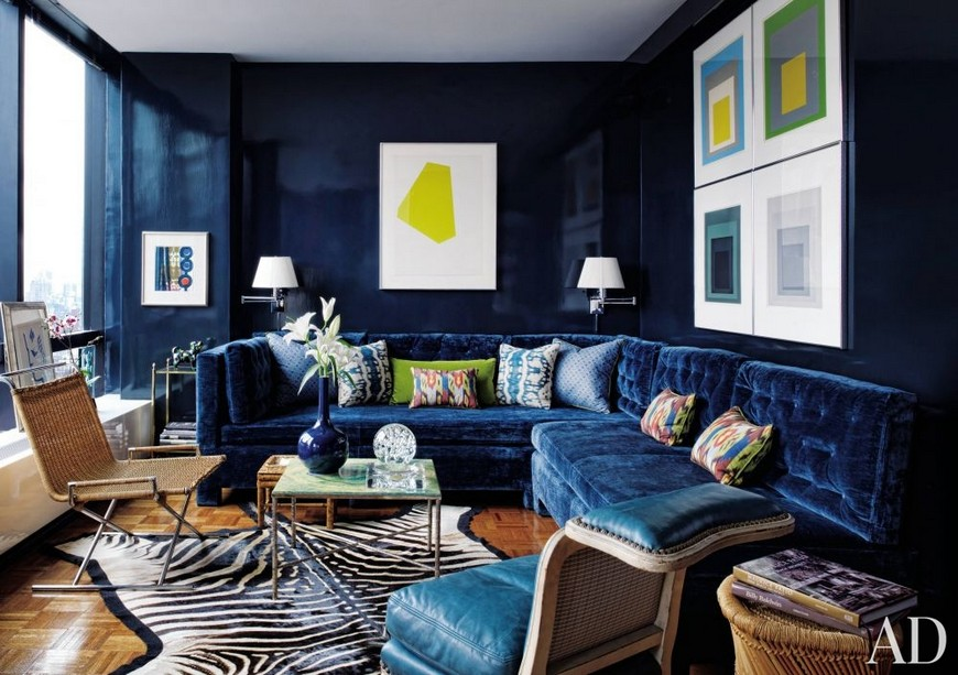 13 Reasons Why You Need A Blue Sofa In Your Living Room
