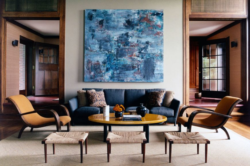 7 Inspirations From ELLE Decor A-List On How To Pick Living Room Sofa