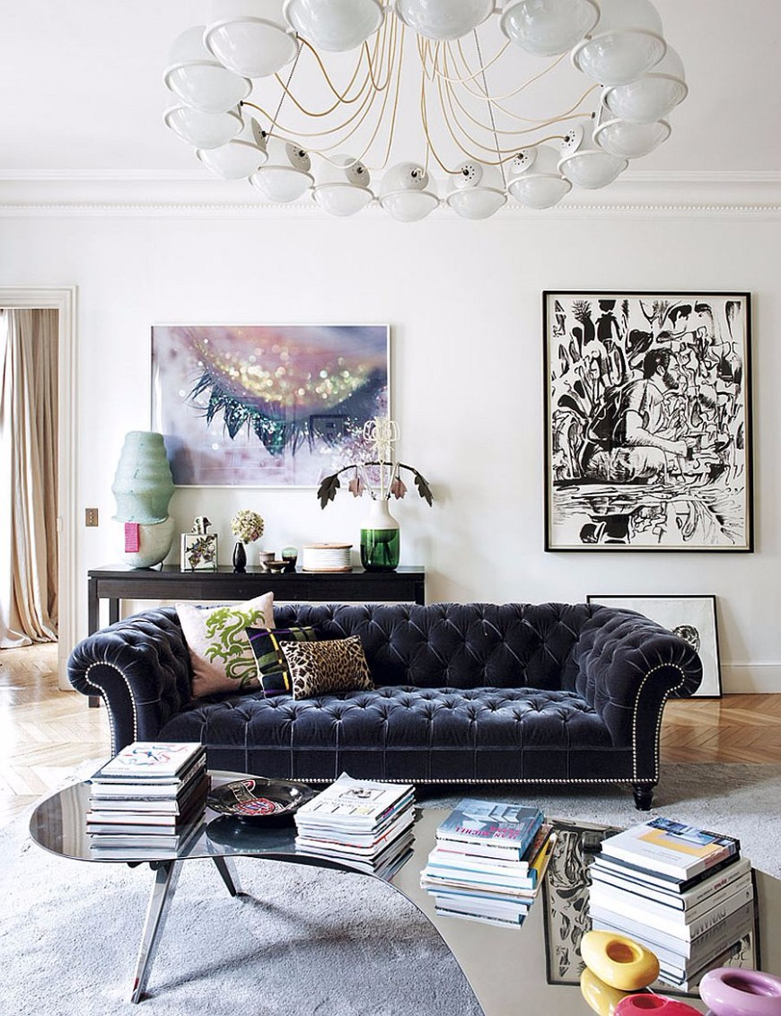 10 Contemporary Rugs To Match A Stylish Living Room Sofa