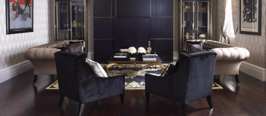 How To Decorate A Sophisticated Living Room Set Like Oliver Burns