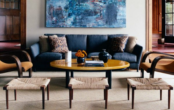 7 inspirations from interior designers on ELLE decor A-list on how to pick a living room sofa