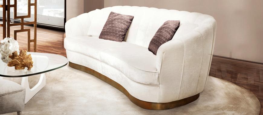 PEARL Sofa, A Delicate & Cosy Living Room Sofa