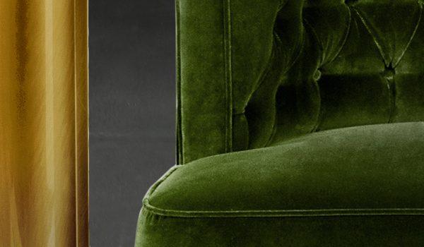 velvet sofa Velvet Sofas 35 Velvet Sofas for a Tender Living Room Set modern sofas 600x350