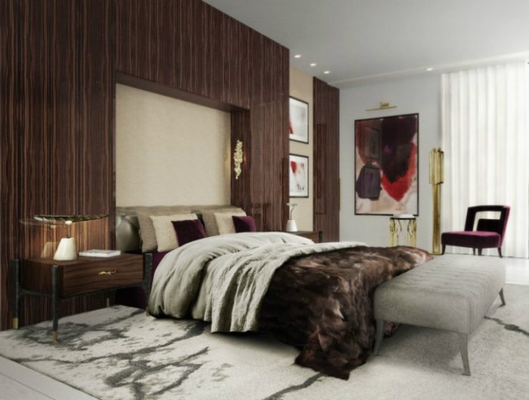 modern sofas 10 Tips to Design a Comfy Bedroom with Modern Sofas 10 tips to design a comfy bedroom with modern sofas 740x560