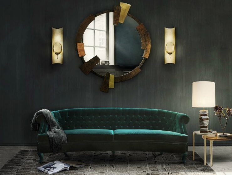 10 Green Sofas to Showcase your Living Room in 2019