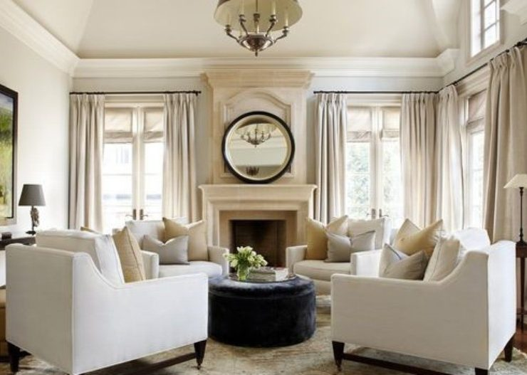Trendy Living Rooms Decorated with Modern Sofas