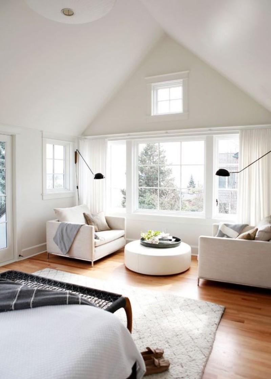 Luxury Bedroom Designed with Modern Sofas