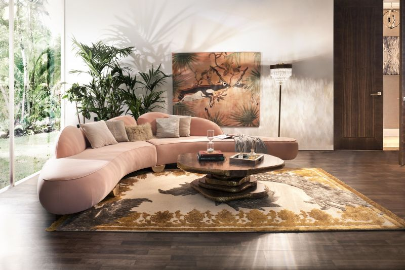 Living Room Ideas, BRABBU, Luxury Brands, Modern Sofas Blog, Craftsmanship, Interior Design, Covet Group, Lighting, Upholstery, Rugs, mid-century, Modern living room ideas Living Room Ideas by Covet Group Living Room Ideas by Covet Group