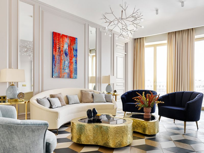 Living Room Ideas, BRABBU, Luxury Brands, Modern Sofas Blog, Craftsmanship, Interior Design, Covet Group, Lighting, Upholstery, Rugs, mid-century, Modern living room ideas Living Room Ideas by Covet Group Living Room Ideas by Covet Group8