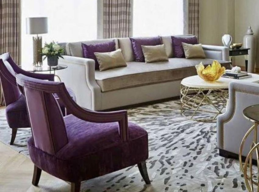 10 Ideas With Purple Sofas That Will Light Up Your Home purple sofas 10 Ideas With Purple Sofas That Will Light Up Your Home 10 Ideas With Purple Sofas That Will Light Up Your Home9 1